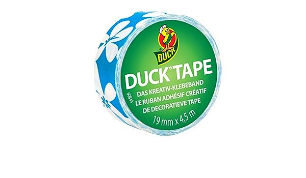 19 mm x 4,5 m Duckling Surf Flower Duck Tape 220885 Gewebeband