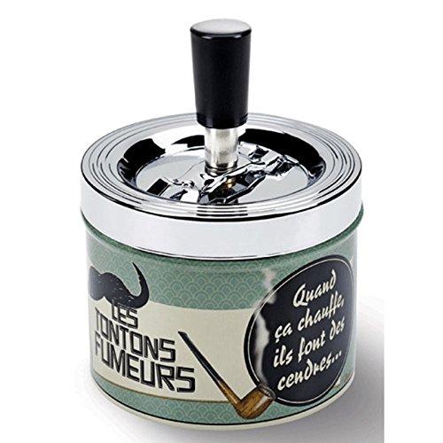 Cenicero Presión Clásico Retro Vintage Diseño Cigarrillos