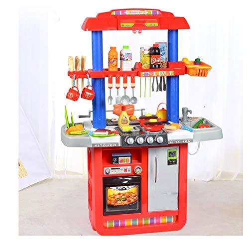 XCXDX Luxuriöse Doppelseitige Küchenspielwaren, Grillstände Mit Klangbeleuchtung, Helle Farben, Kreative Geschenke
