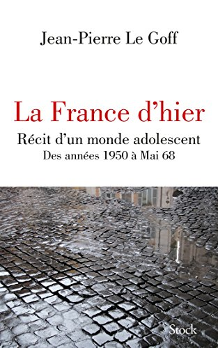La France d'hier (Essais - Documents)