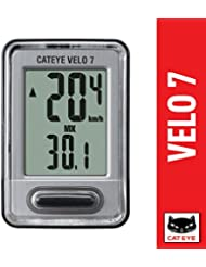 CatEye Grey Velo 7 Wired Road Bike Computer