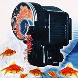 Mangiatoia feeder distributore automatico regola cibo per pesci da ACQUARIO - timer regolabile. Feede