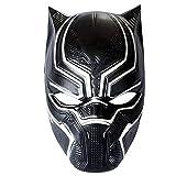 KIRALOVE Maschera - Mascherina - Black Panther - Pantera Nera - Accessori - Uomo - Donna - Bambino - Costume - Costumino - Carnevale - Halloween - Cosplay