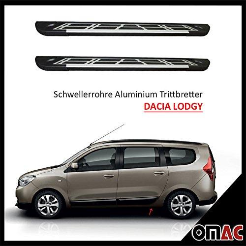 schweller tubi alluminio Pedane per Dacia Dokker LODGY 2012Sunrise (203)