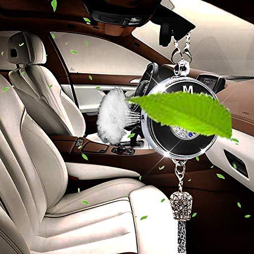 VILLSION Deodorante per Auto Profumo Diffusore Specchietto Retrovisore Pendente per Auto Accessori con Confezione Regalo