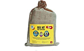 Toiing Rock Art Kit - Creative Reusable Rock Painting & Colouring Sets; Indoor Art Project for Children