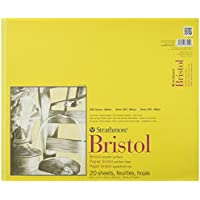 Pro-Art Paper Strathmore Bristol Smooth Paper Pad 14-inch x 17-inch, 20 Sheets