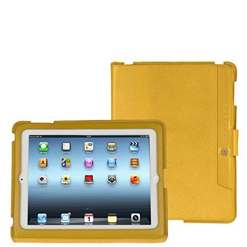 Piquadro iPad Hülle Crayon iPad/iPad 2 gelb