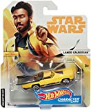 Star Wars Lando Calrissian Hot Wheels Charakter Fahrzeug im Maßstab 1 : 64 Spiel und Sammelfahrzeug