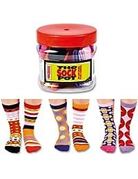 6 Verrückte Socken 15 Kombinationen - Oddsocks Sock Pot