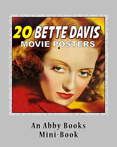 20 Bette Davis Movie Posters (English Edition) -
