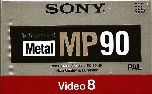 Sony P5-90MP blanko Tapes (Sony Tape-adapter)