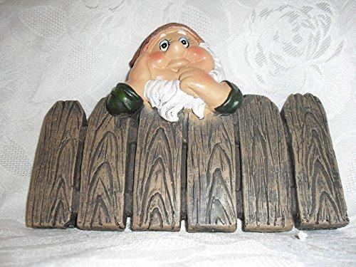 Zaun Zwerg 20 x 16 cm Garten Stecker Blumenbeet Balkonkasten Deko