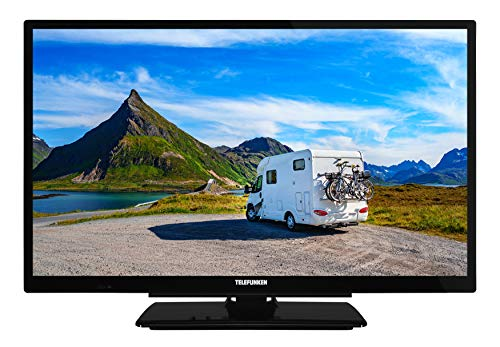 Telefunken XF22G501VD 55 cm (22 Zoll) Fernseher (Full HD, Triple Tuner, Smart TV, Prime Video, DVD-Player integriert, 12 V, Works with Alexa)
