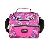 Yvonnelee, borsa termica per alimenti, isolante, 5 litri, piccola Pink