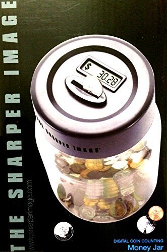 the-sharper-image-electronic-digital-coin-counting-money-jar-piggy-savings-bank-by-sharper-image