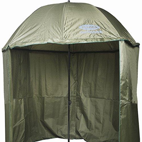 fladen-22-m-inclinable-rond-vert-fonce-brolly-parapluie-de-peche-avec-fermeture-eclair-etanche-sur-f