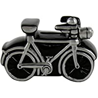 Preisvergleich für Mini-Spardose Fahrrad schwarz 10cm aus Keramik