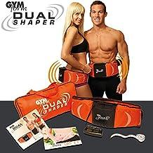 L'original Dual Shaper - Le must des appareils de musculation pour les abdominaux ou les cuisses - Ceinture amincissante avec action combinée! Vibration et électrostimulation - Élimine la graisse et renforce les muscles en moitié moins de temps.