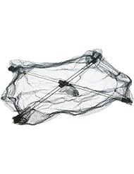 pedgeo (TM) Hot Sale 60* 60cm plegable malla de nylon red de pesca cebos Trampa Cast Dip Cangrejo Camarón Net