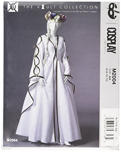 M2004 McCalls Schnittmuster zum Nähen, Elegant, Extravagant, (Nähen Muster Für Kostüm)