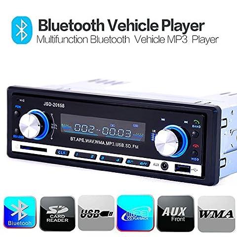 WEKSI® Autoradio MP3WEKSI® Autoradio MP3 Tuner PLL 50W x 4