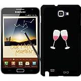 Coque pour Samsung Galaxy Note GT-N7000 (I9220) - Verres De Champagne by ilovecotton