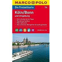 MARCO POLO Freizeitkarte Köln, Bonn und Umgebung 1:100.000