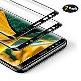 [2-Pezzi] Vetro Temperato Compatibile con Samsung Galaxy Note 8, Ultra Resistente Pellicola Protettiva per Samsung Galaxy Note 8, [Durezza 9H] [Anti Graffi] [Bordi Arrotondati da 2.5D]