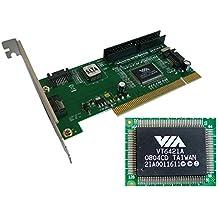 Tarjeta controlador PCI (3 puertos SATA, 1 puerto IDE, RAID 0, RAID 1, RAID 0+1, JBOD)