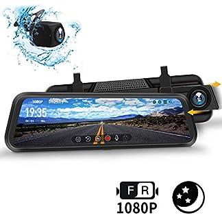 DuDuBell-Dashcam-Autokamera-10-IPS-Touchscreen-Rckspiegelkamera-Dual-Dashcam-1080P-1080P-310–Weitwinkel-mit-Nachtsicht-bei-Sternenlicht-HDR-Plus-IP68-wasserdichte-Rckfahrkamera