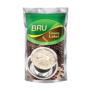 BRU Green Label, 500g Poly Pack