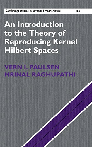 An Introduction to the Theory of Reproducing Kernel Hilbert Spaces (Cambridge Studies in Advanced Mathematics, Band 152)