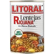 Litoral - Lentejas Riojanas 430 g