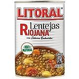Lentejas Riojanas 430 grs Litoral