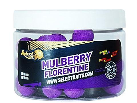 Select Köder Pop-Up boillies, Mulberry Florentine