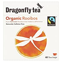 Dragonfly Fairtrade Rooibos Tea Bags 40 per pack