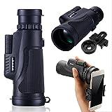 #2: HITSAN INCORPORATION IPRee 12X50 Hiking Concert Monocular HD BAK4 Zoom Lens Telescope Smartphone Holder