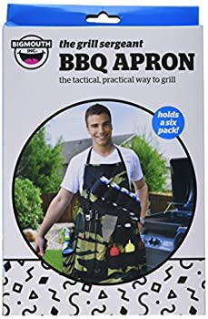 Bigmouth Inc The Grill Sergeant Bbq Apron 6