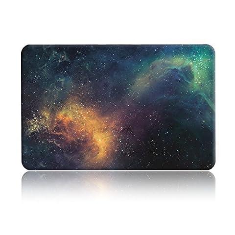 L2W Nebelfleck Muster Hard Shell Hülle Cover für 11-Zoll MacBook Air 11.6