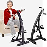 Small Cyclette Pedaliera Riabilitazione Motoria Fitness DuoBike per Ginnastica Passiva Anziani o Deficit Motori Recupero Motorio Gambe e Braccia