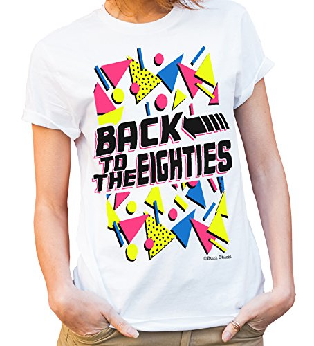 Back To The EIGHTIES Ladies T-Shirt