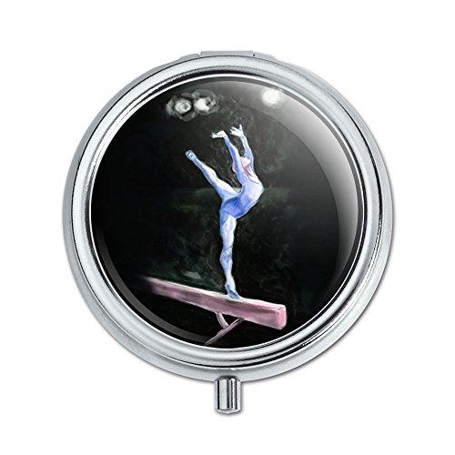 gymnaste-bleu-gymnastique-vault-cheval-darons-pilule-cas-bote-bijoux