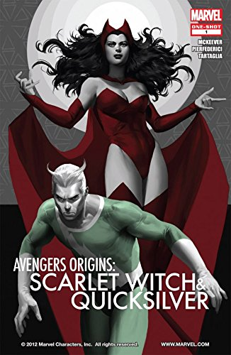 Avengers Origins: Quicksilver and the Scarlet Witch #1 (English Edition) (Quicksilver Scarlet Und Witch)