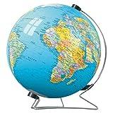 Ravensburger 11113 - Erde in deutscher Sprache inklusive Drehfuß (Globus) - 540 Teile puzzleball®