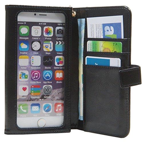 Touch Tasche für Hisense U988 Etui Hülle Portemonnaie 4,7-5,1 Zoll