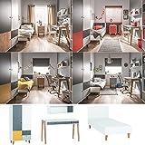 Jugendzimmer Kinderzimmer komplett COLIN Set D Schrank Schreibtisch Bett 120x200 Wandregal 4 Farben neu