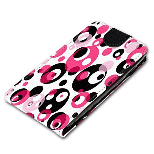 Vertikal Flip Style Handy Tasche Case Schutz Hülle Schale Motiv Etui Karte Halter für Apple iPhone 5 / 5S - Variante VER34 Design7 Design 3