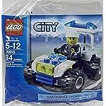 Lego, Giochi di Costruzione, City30352, Auto della Polizia (Versione Tedesca)  LEGO
