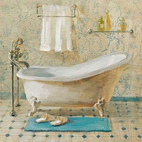 Impresión de Arte Fino en lienzo : Victorian Bath III by Nai, Danhui - Medio (33 x 33 Cms)